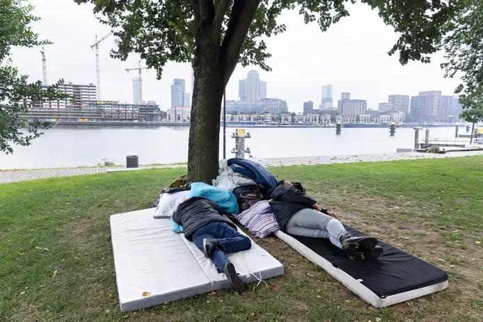 مجلس النواب الهولندي يريد مأوى للمشردين من مهاجري الاتحاد الأوروبي
