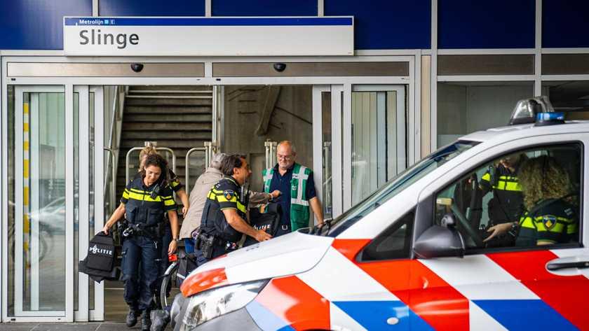 اعتقال رجل بتهمة التهديد بتفجير قنبلة في مترو روتردام