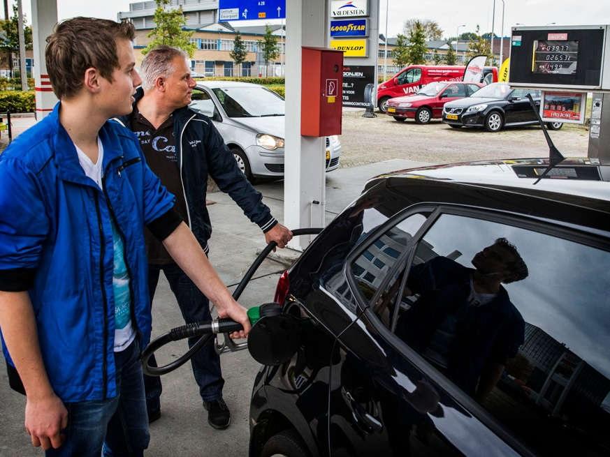 سعر البنزين الهولندي في ارتفاع كبير!