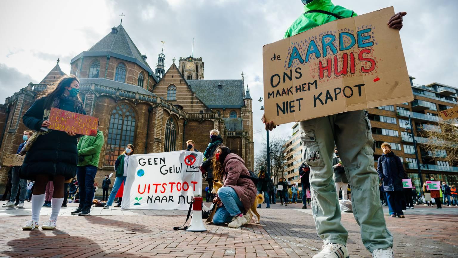 اختلاف الأهداف المناخية للشركات الهولندية على نطاق واسع
